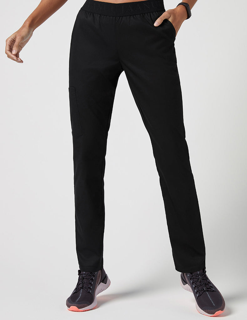 Jaanuu | Logo 3 Pocket Pant - Black - 1