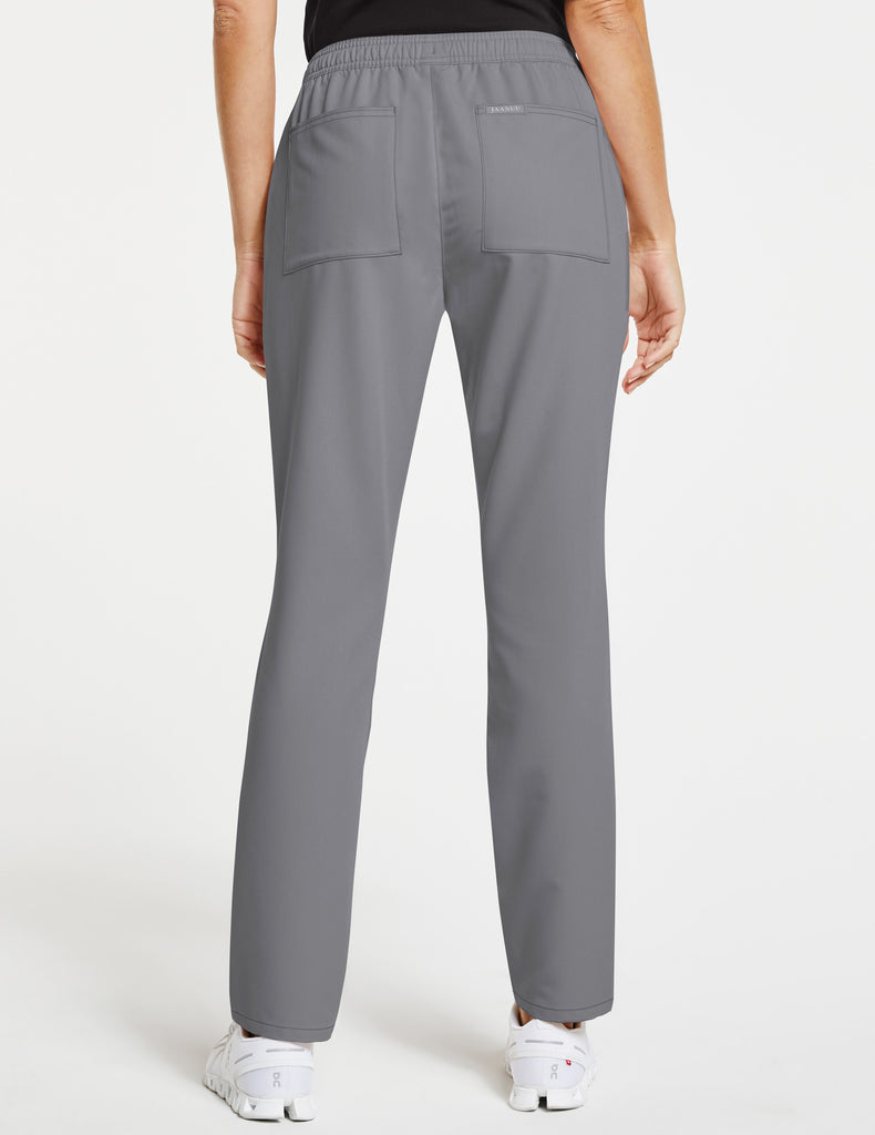 Jaanuu | Women's Essential Relaxed Pant - Gray - 4