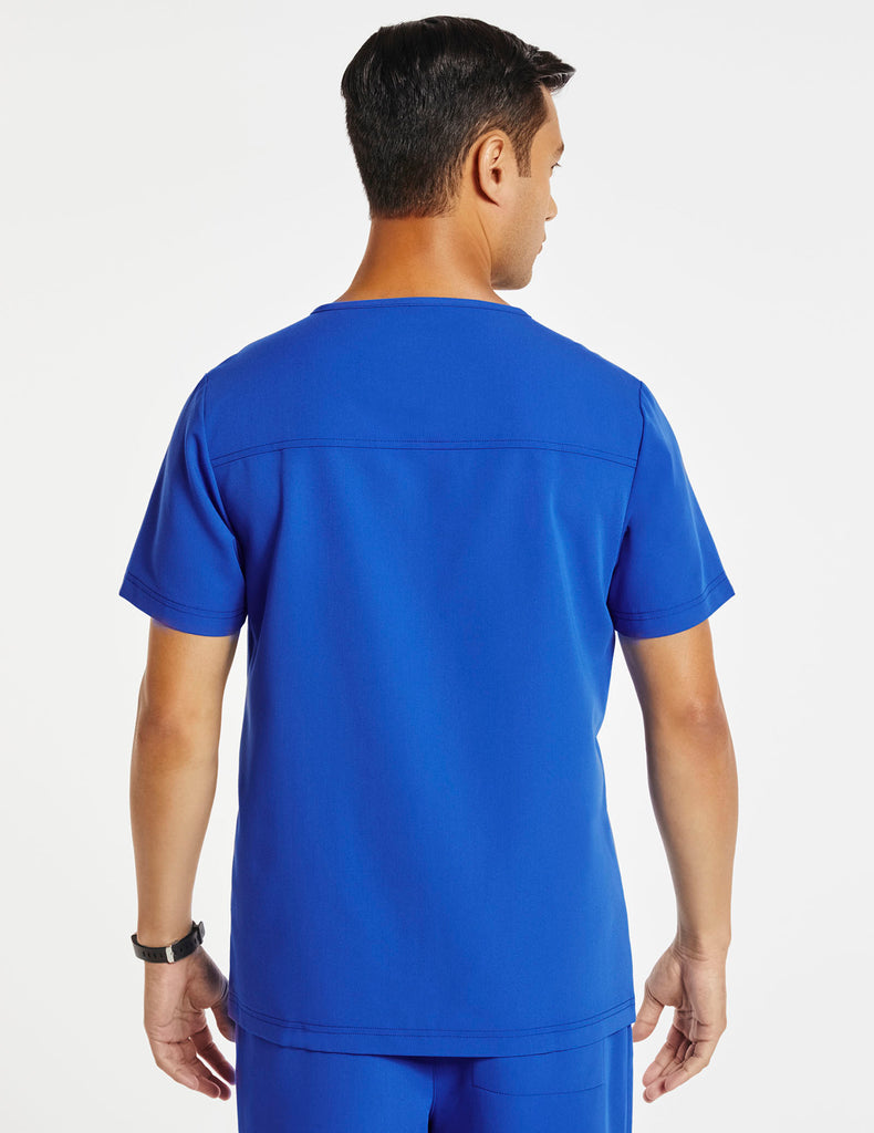 Jaanuu | Men's Hidden-Pocket Top - Royal Blue - 4