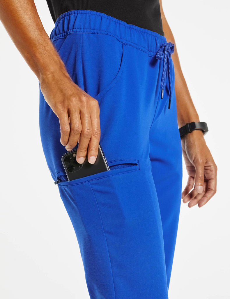 Jaanuu | Women's Essential 5-Pocket Jogger - Royal Blue - 5