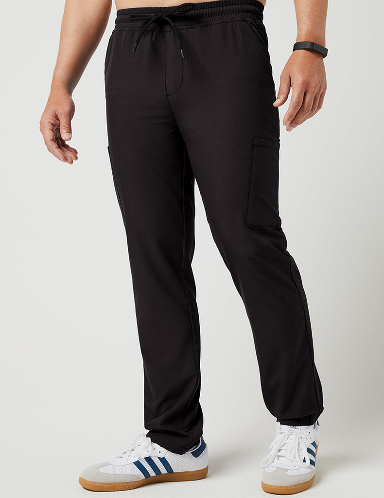 Jaanuu | Slim Drawstring Pant - Black - 1
