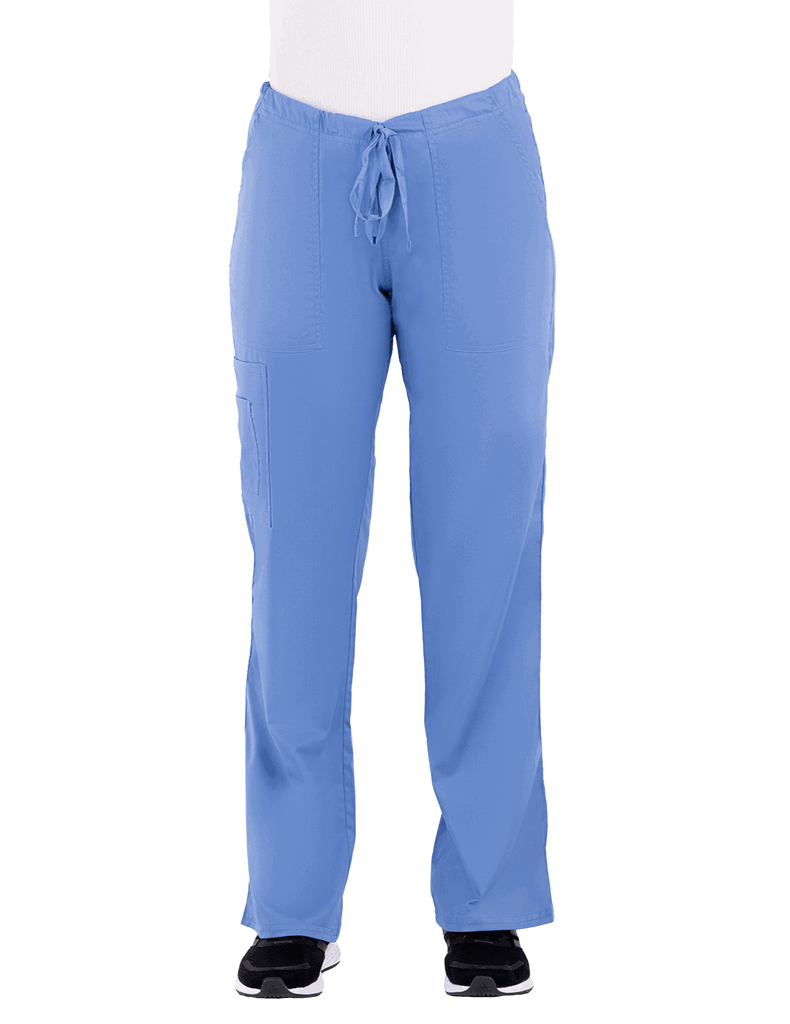 Life Threads | Women's Contego Cargo Pant - Ceil Blue - 1