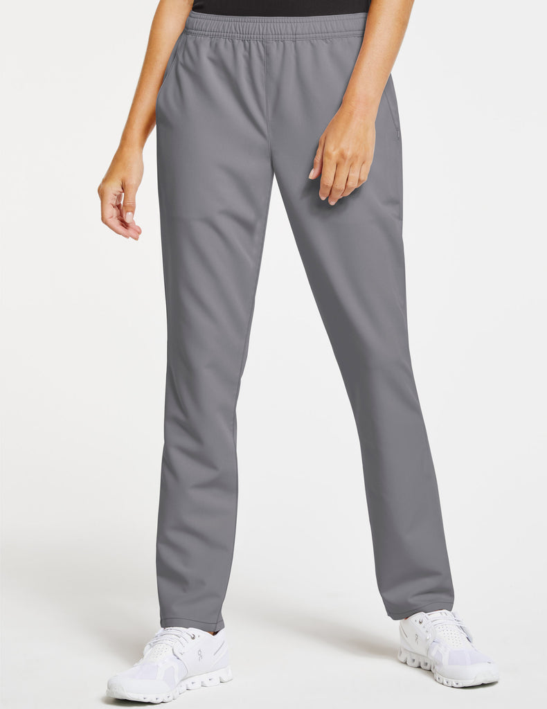 Jaanuu | Women's Essential Relaxed Pant - Gray - 1