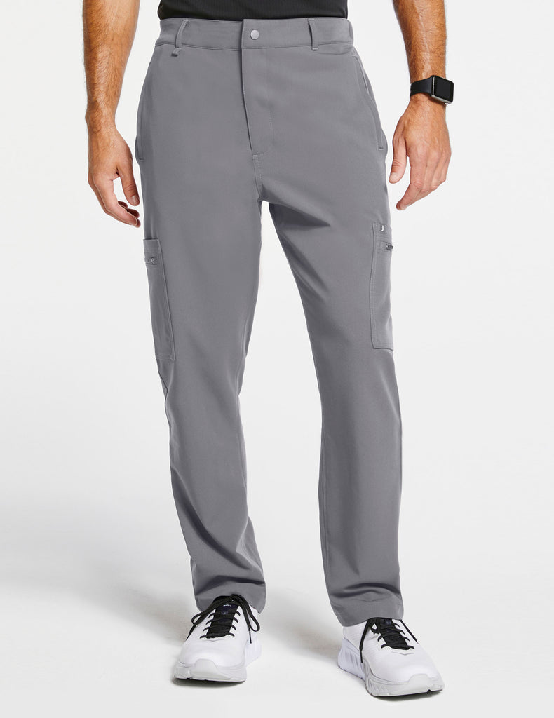 Jaanuu | Men's 11-Pocket Relaxed-Fit Pant - Gray - 1