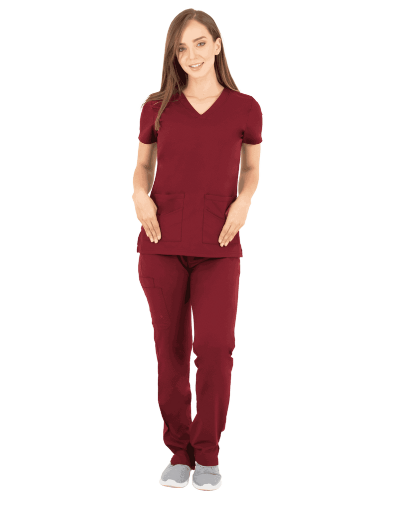 Life Threads | Women's Ergo 2.0 Utility Top - Wine - 2