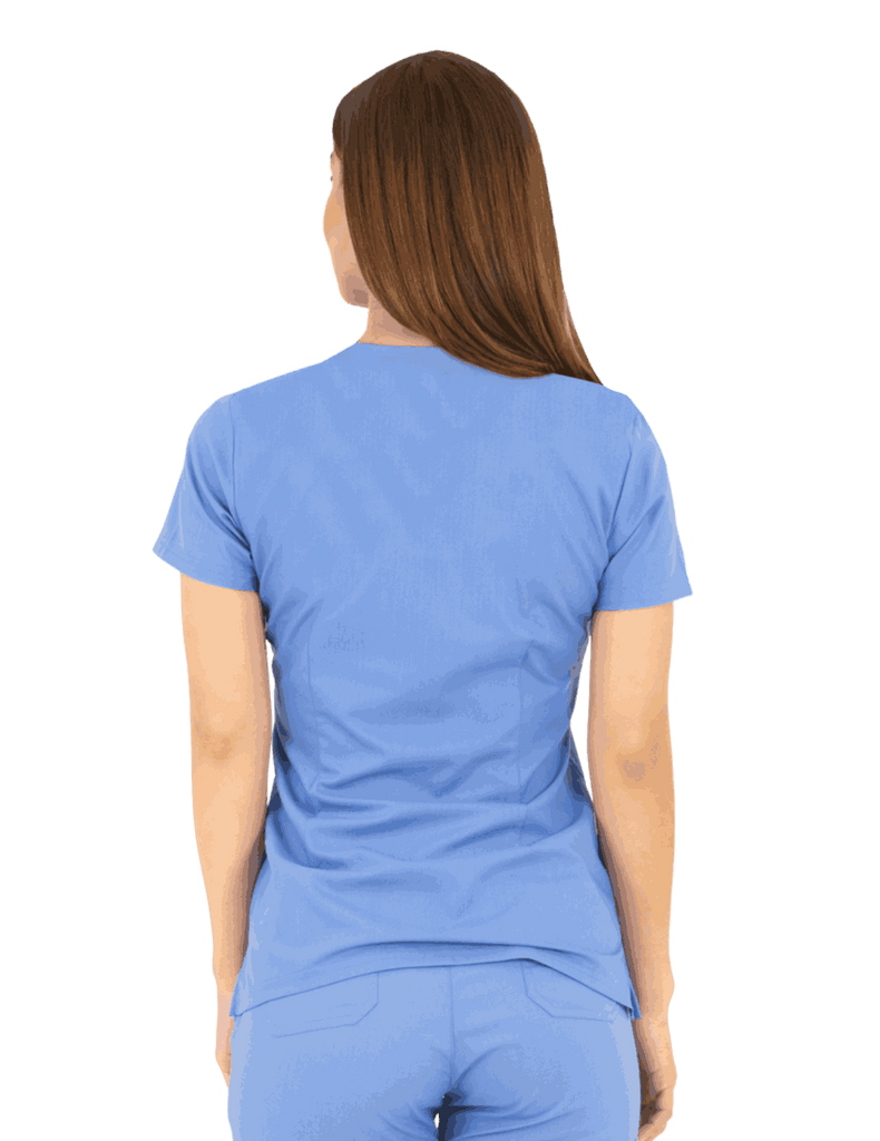 Life Threads | Women's Ergo 2.0 Utility Top - Ceil Blue - 4