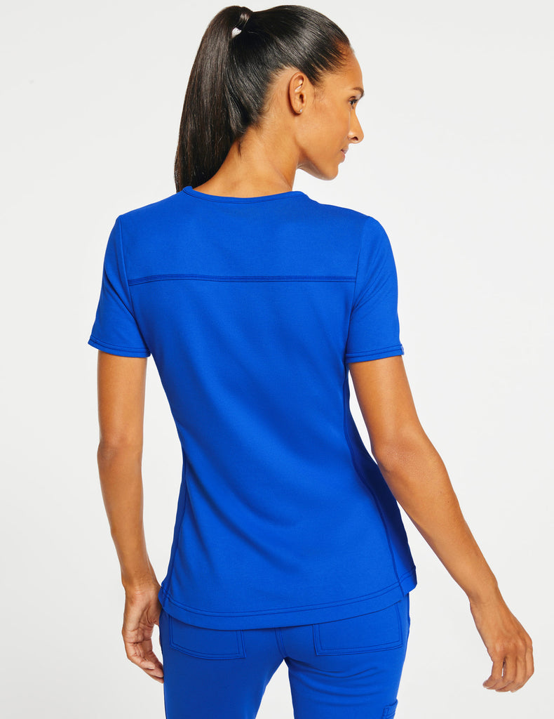 Jaanuu | Women's 2-Pocket Side-Rib Top - Royal Blue - 4