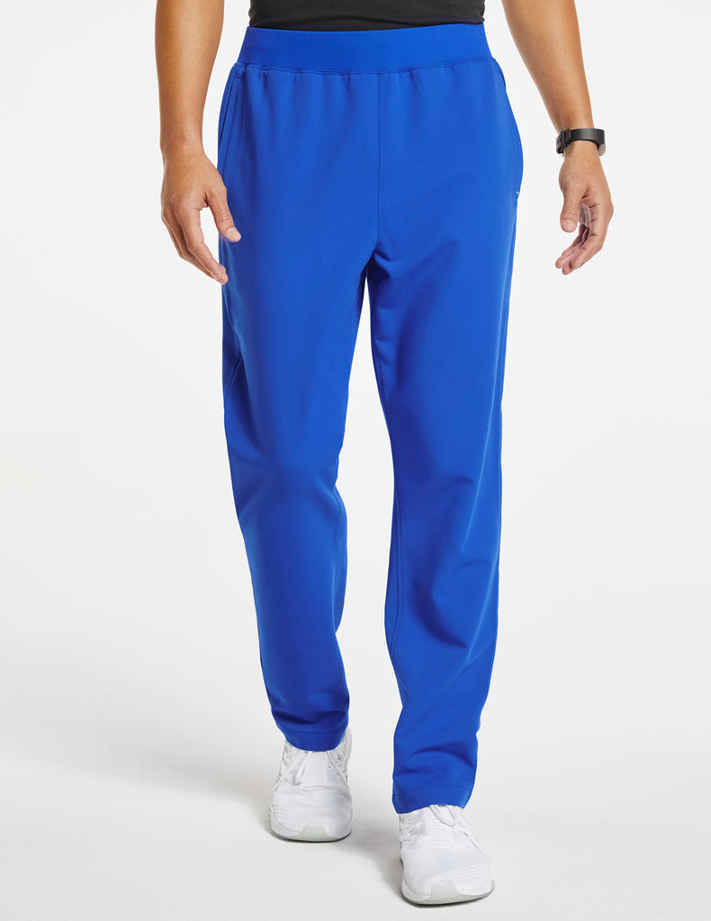 Jaanuu | Men's 4-Pocket Relaxed-Fit Pant - Royal Blue - 1
