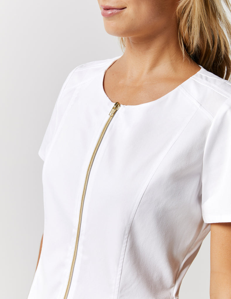 Jaanuu | Biker Top - White - 3
