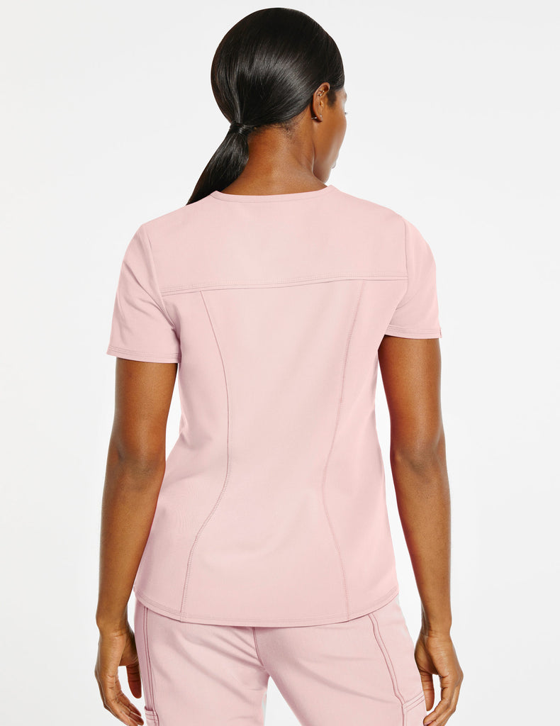 Jaanuu | Women's 4-Pocket D-Ring Top - Blushing Pink - 4
