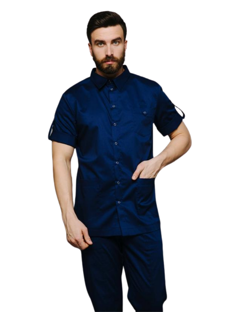 Treat in Style | Buttoned Shirt - Blue