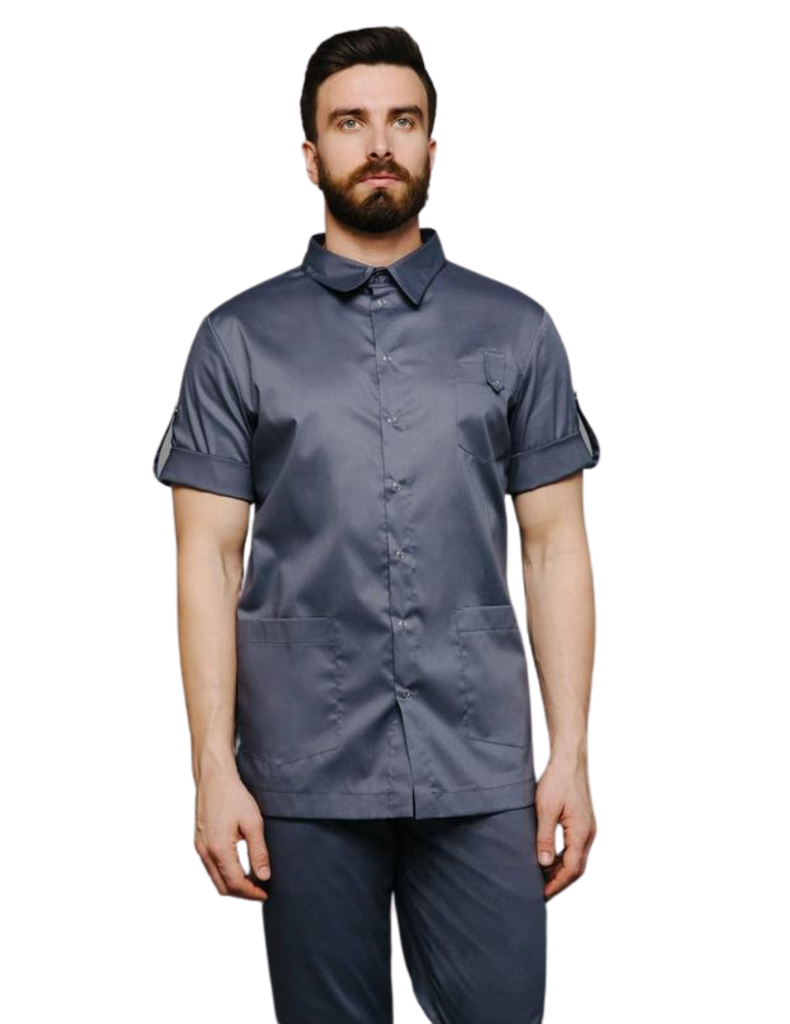 Treat in Style | Buttoned Shirt - Grey