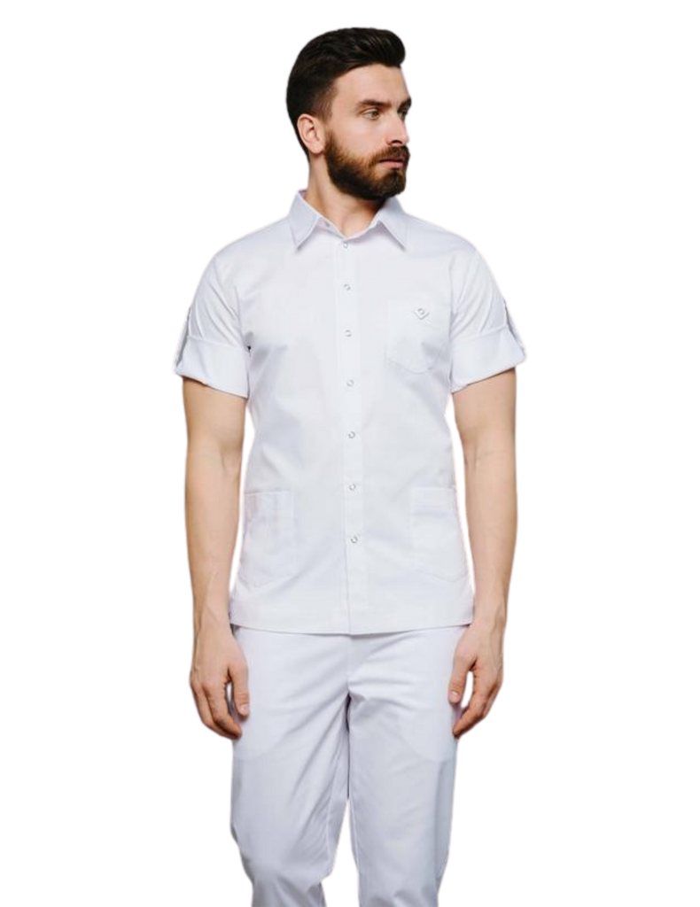 Treat in Style | Buttoned Shirt - White