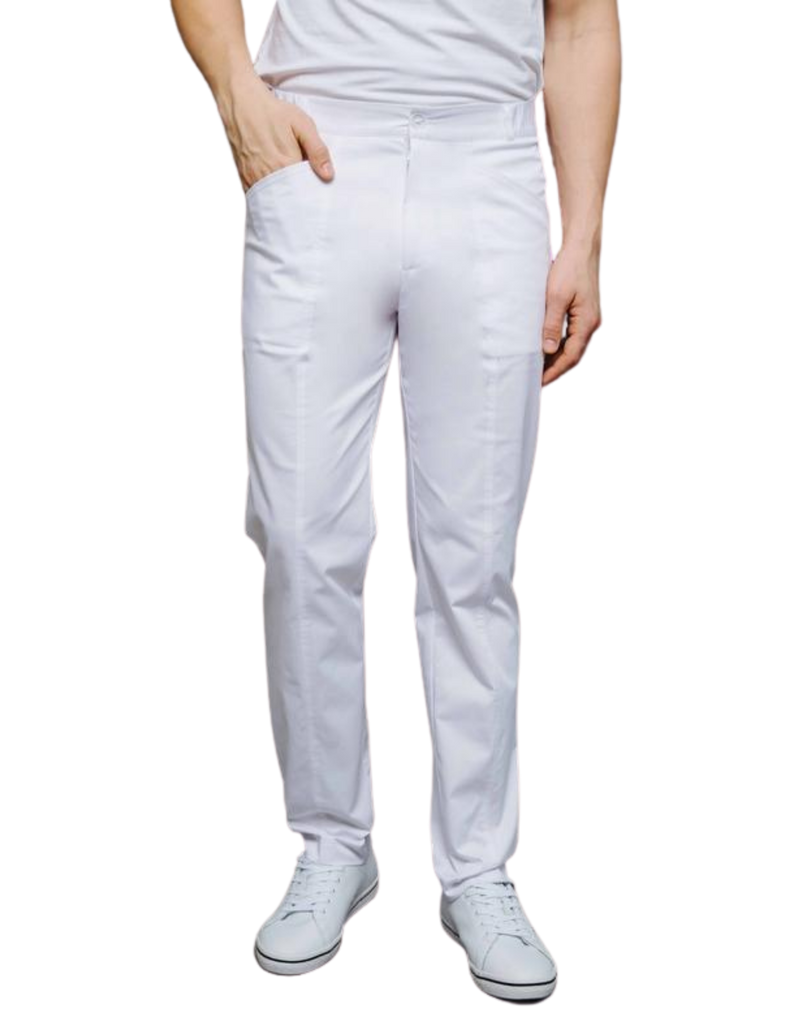 Treat in Style | Classic Trousers - White