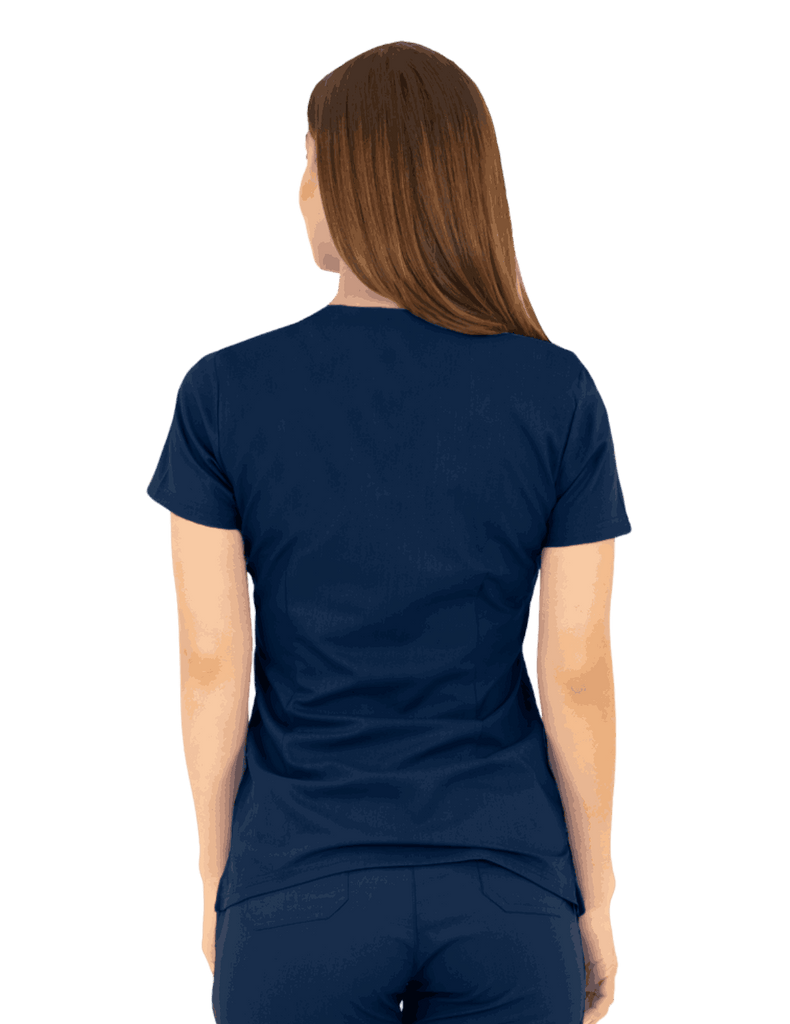 Life Threads | Women's Ergo 2.0 Utility Top - Navy Blue - 4
