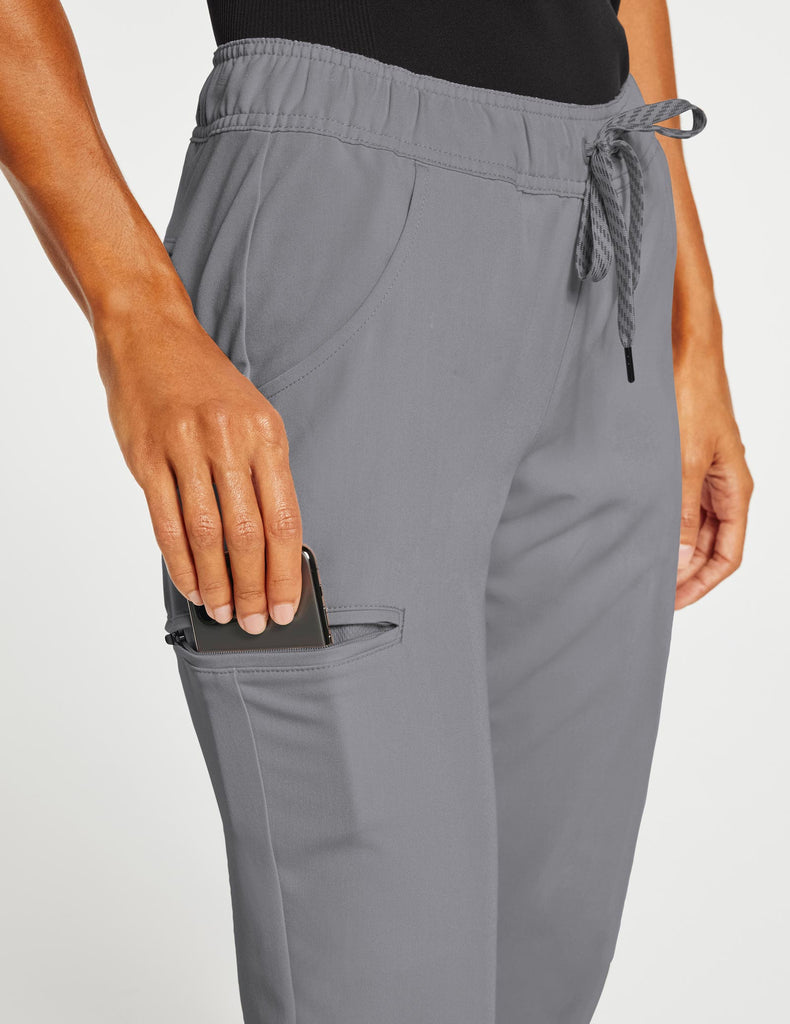 Jaanuu | Women's Essential 5-Pocket Jogger - Gray - 5