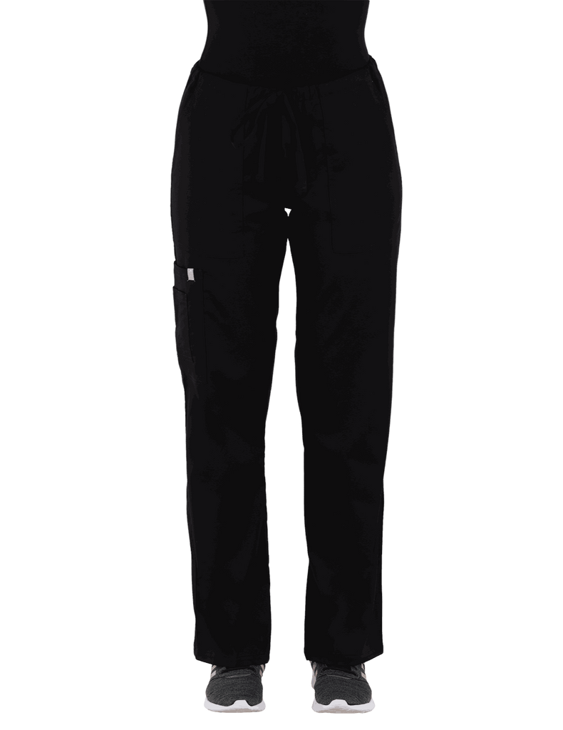Life Threads | Women's Contego Cargo Pant - Black - 1