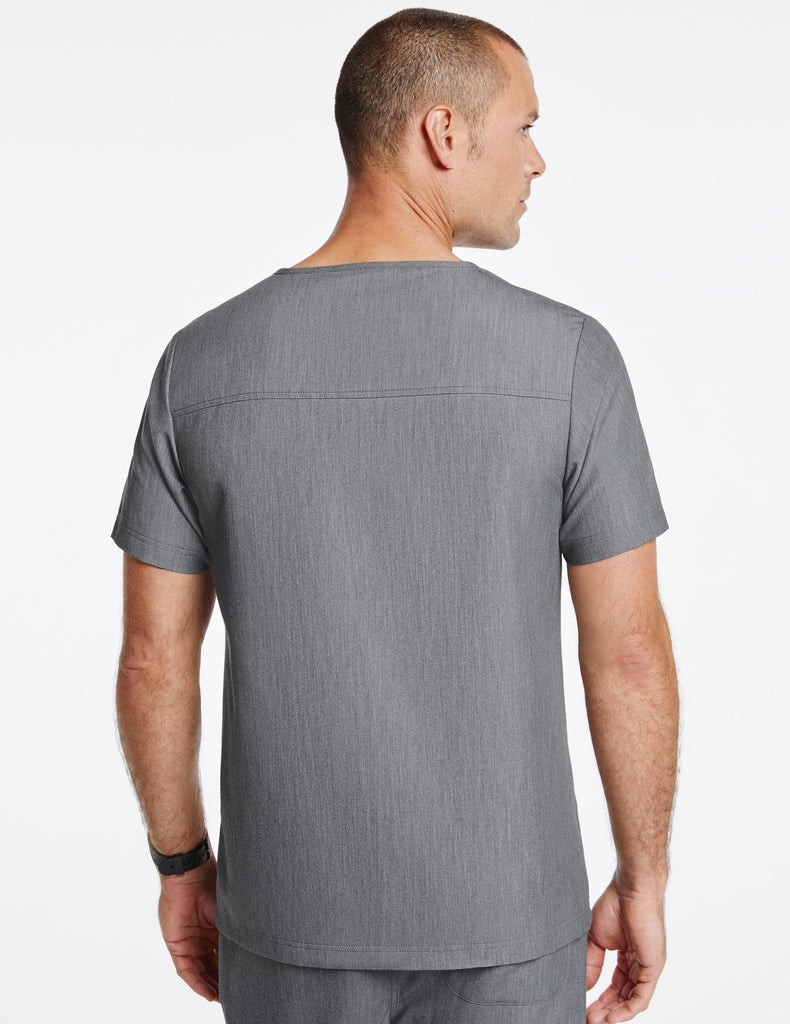 Jaanuu | Men's Hidden-Pocket Top - Heather Gray - 4