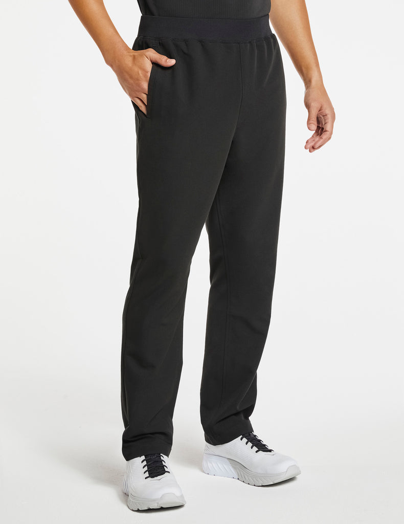 Jaanuu | Men's 4-Pocket Relaxed-Fit Pant - Black - 1