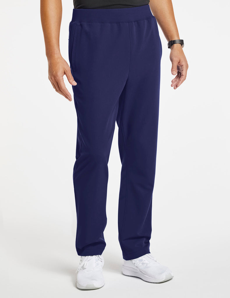 Jaanuu | Men's 4-Pocket Relaxed-Fit Pant - Navy - 1