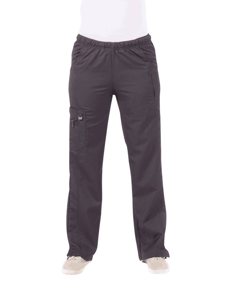 Life Threads | Women's Ergo 2.0 Fashion Cargo Pant - Pewter - 1