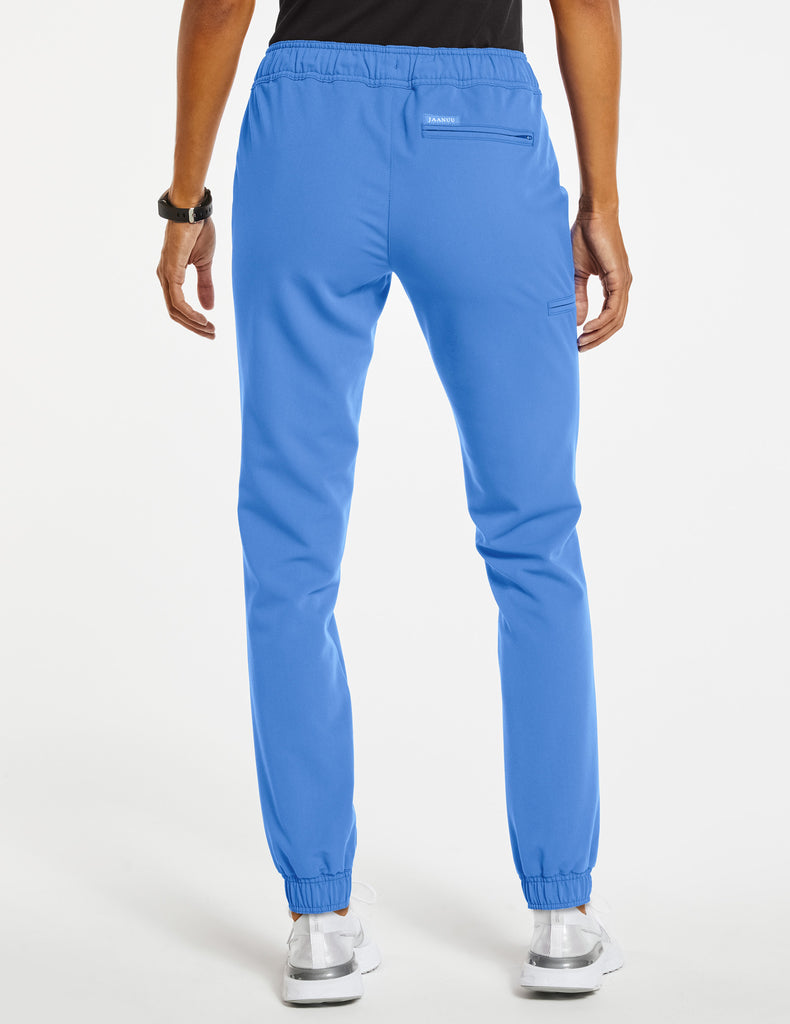 Jaanuu | Women's Essential 5-Pocket Jogger - Ceil Blue - 4