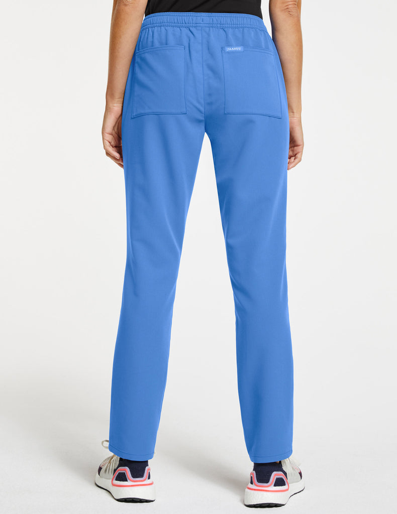 Jaanuu | Women's Essential Relaxed Pant - Ceil Blue - 4