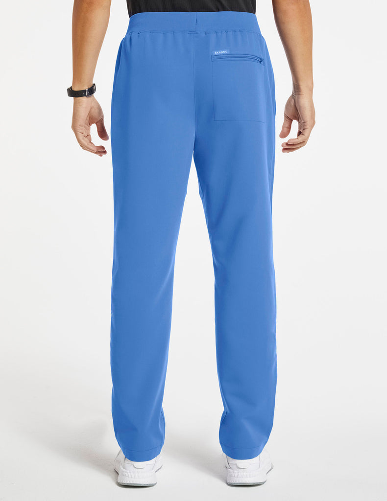 Jaanuu | Men's 4-Pocket Relaxed-Fit Pant - Ceil Blue - 4