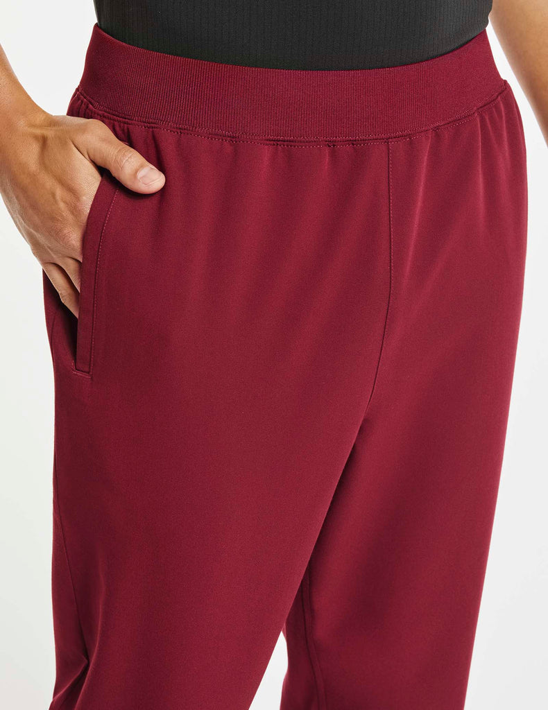 Jaanuu | Men's 4-Pocket Relaxed-Fit Pant - Wine - 5