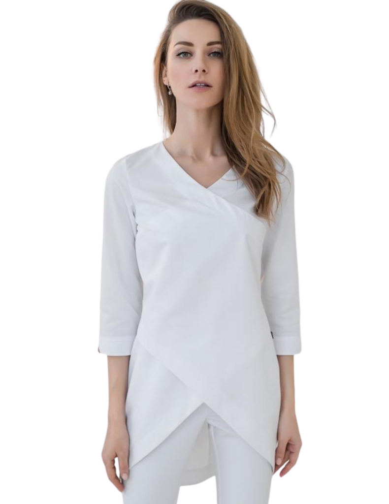 Treat in Style | Elegant Long-Sleeve - White