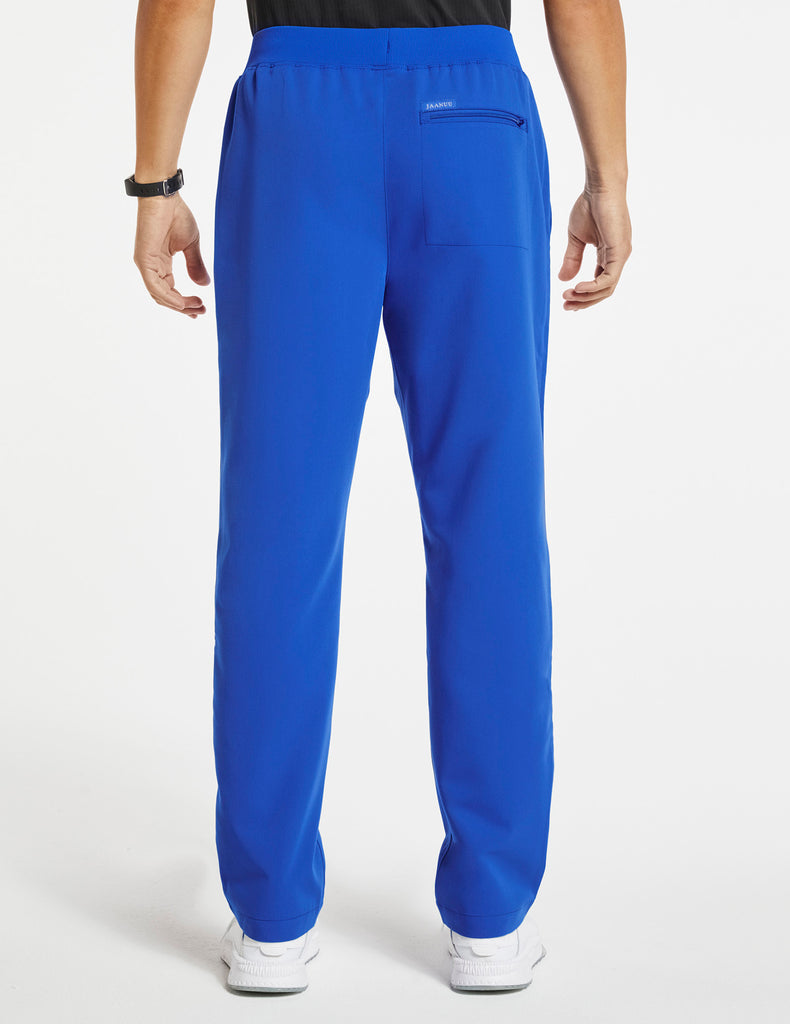 Jaanuu | Men's 4-Pocket Relaxed-Fit Pant - Royal Blue - 4