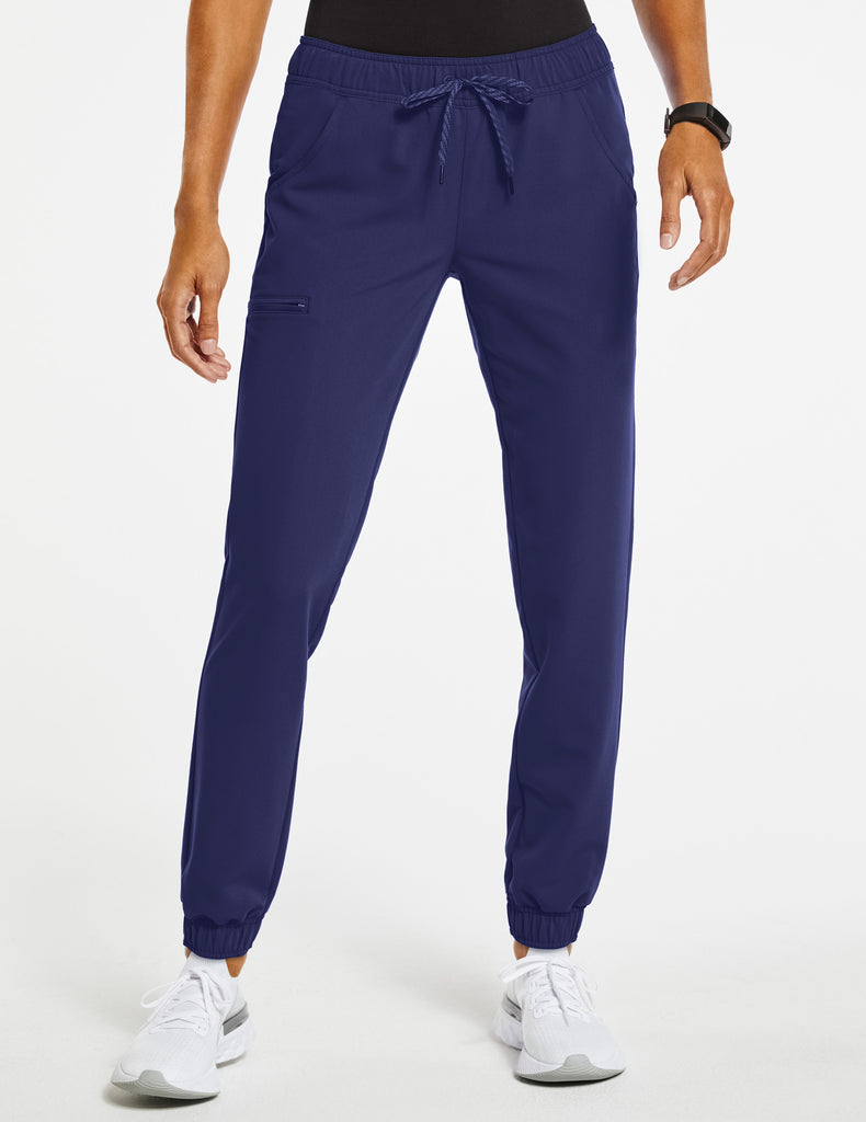 Jaanuu | Women's Essential 5-Pocket Jogger - Navy - 1