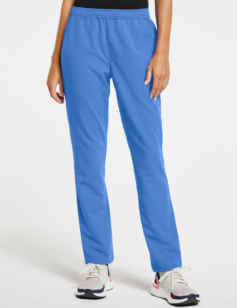 Jaanuu | Women's Essential Relaxed Pant - Ceil Blue - 1
