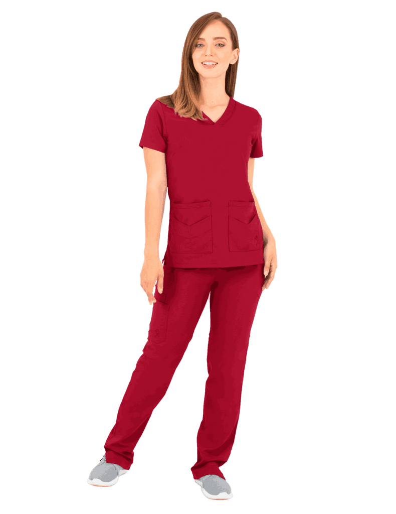 Life Threads | Women's Ergo 2.0 Utility Top - Red - 2