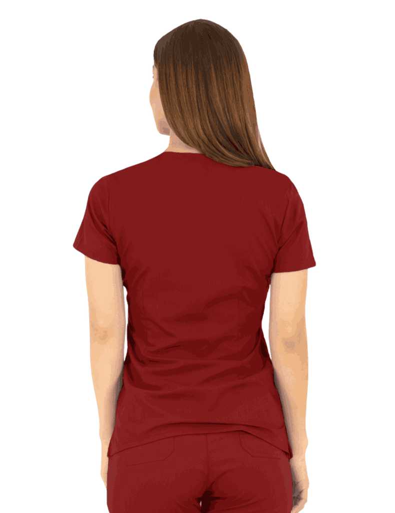 Life Threads | Women's Ergo 2.0 Utility Top - Wine - 4