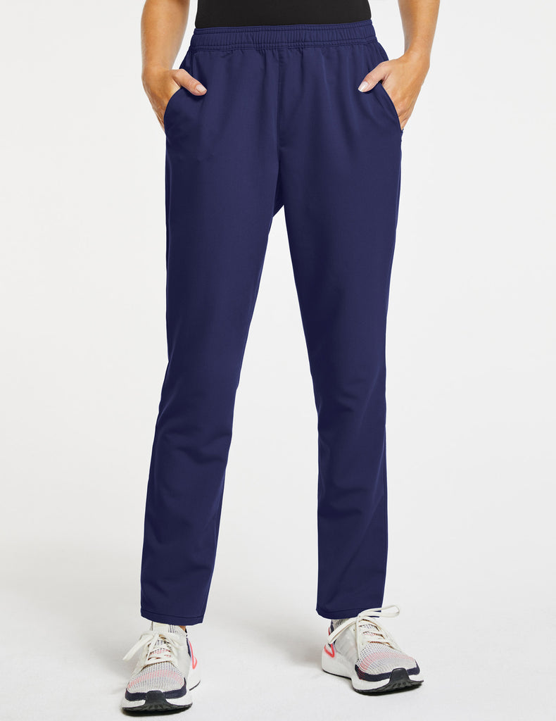Jaanuu | Women's Essential Relaxed Pant - Navy - 1