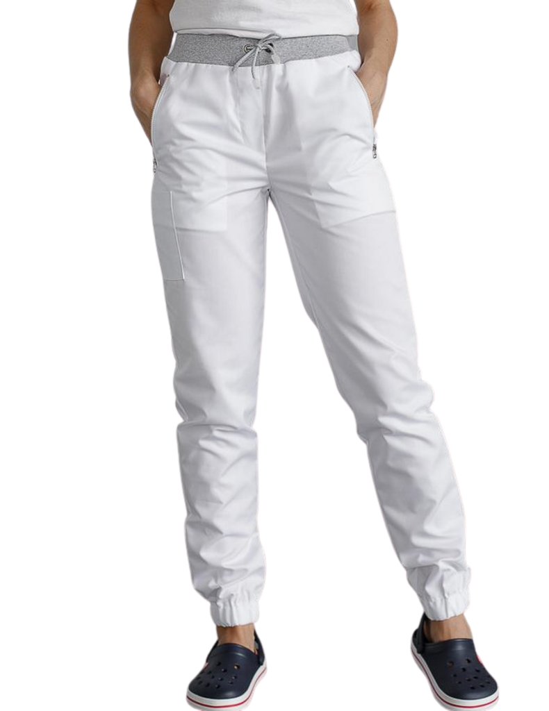 Treat in Style | Jogger Pants - White