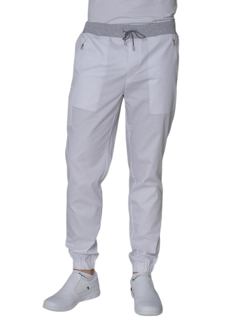 Treat in Style | Men's Joggers - White