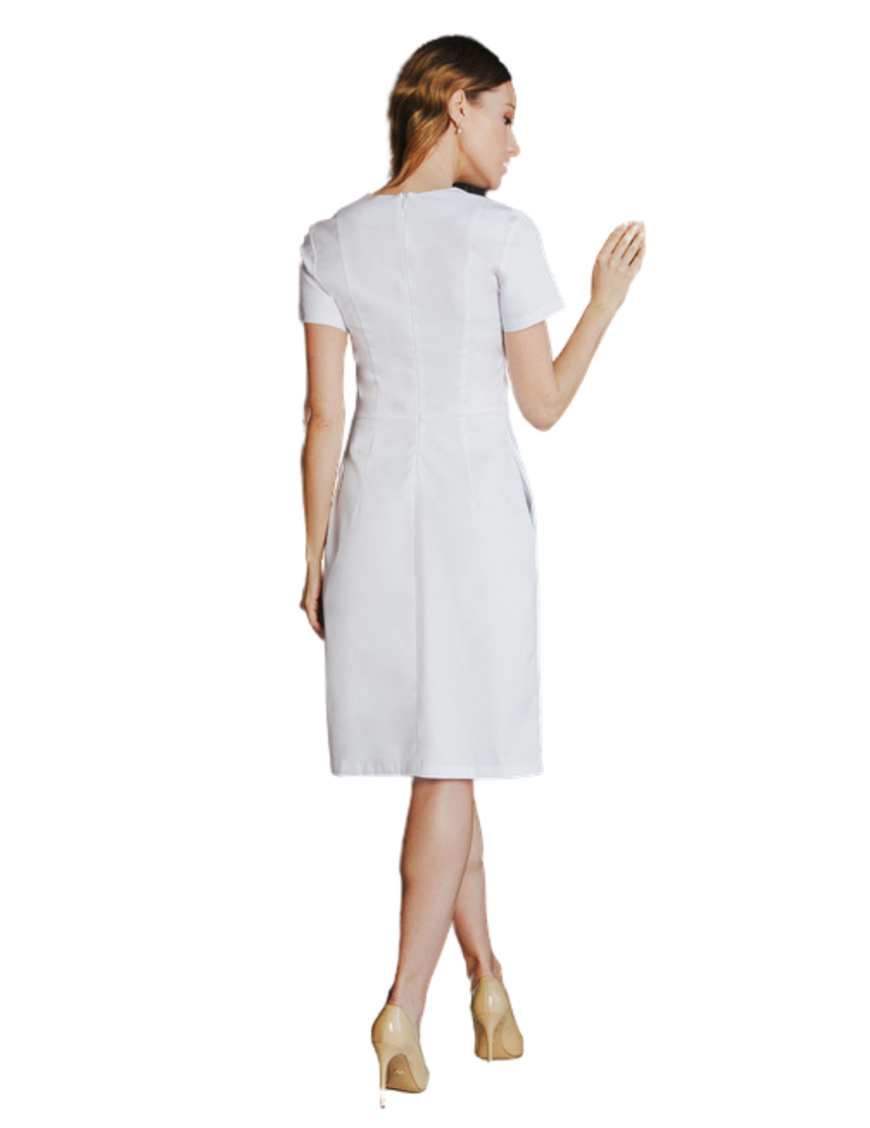 Treat in Style | Slit Dress - White