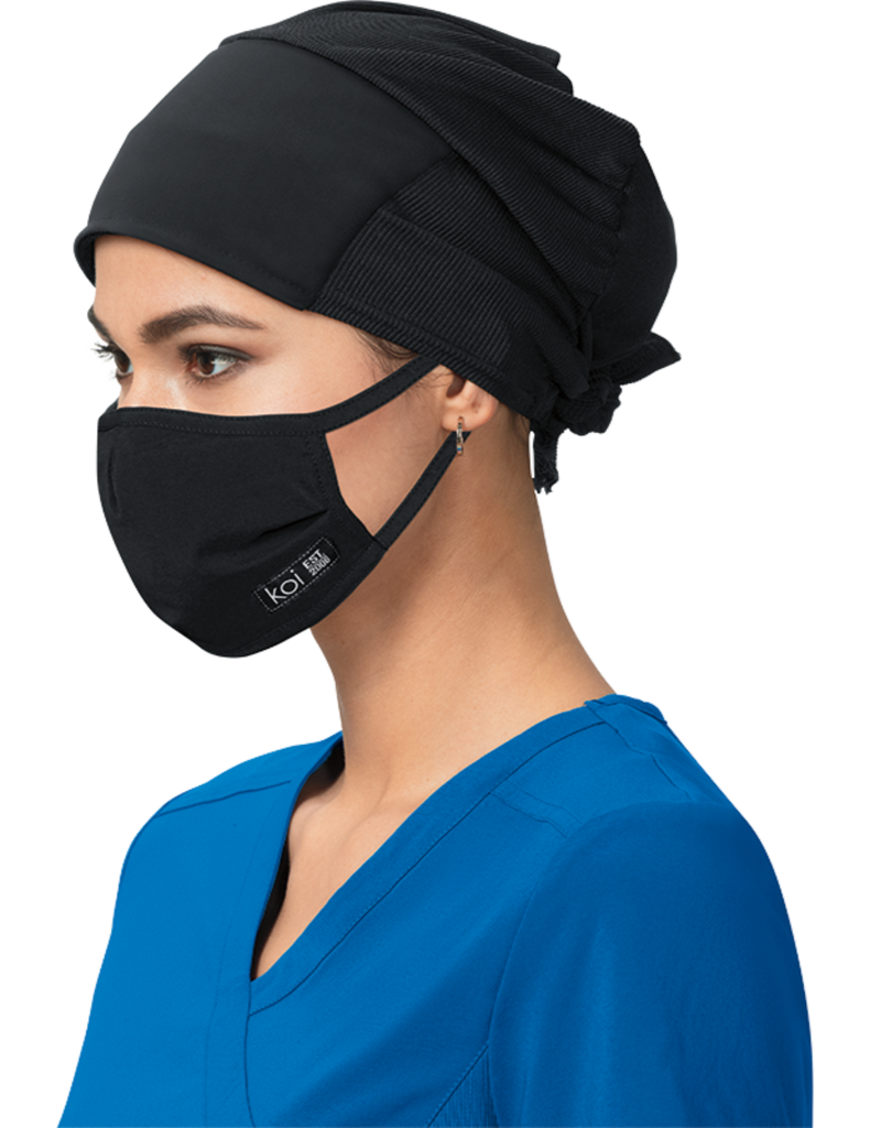 Koi | Face Mask with exchangeable filters - Black