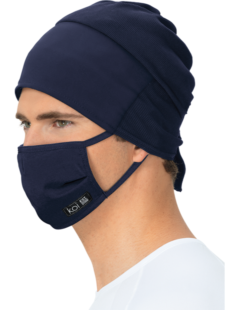 Koi | Face Mask with exchangeable filters - Navy