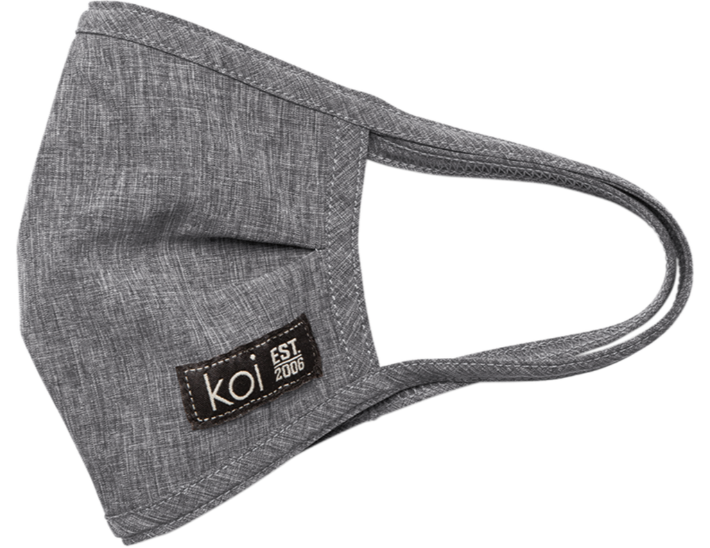 Koi | Face Mask with exchangeable filters - Heather Grey
