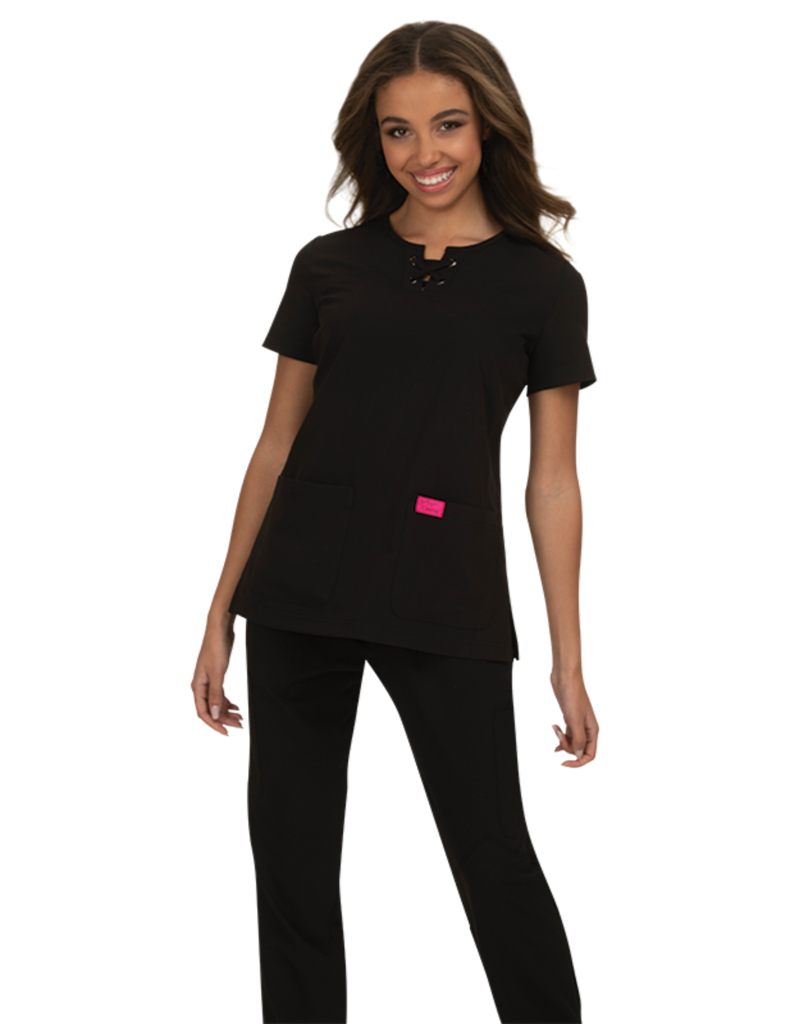 Koi | Clover Top - Black