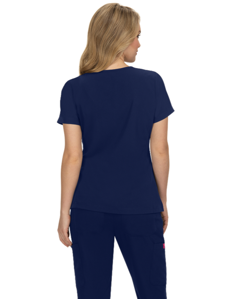 Koi | Clover Top - Navy
