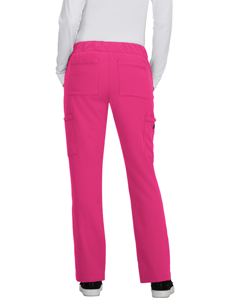 Koi | Buttercup Pant - Flamingo