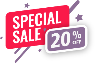 Special Sale 20% Off