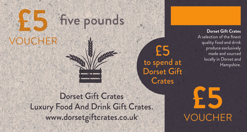 Five Pounds Gift Voucher.