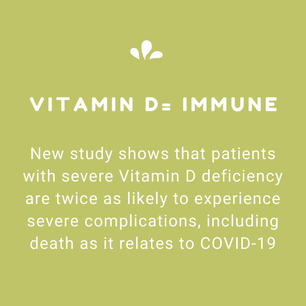 New Study Shows Vitamin D Deficiency - Enhancing the Immune System