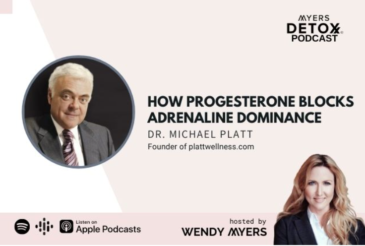 How Progesterone Blocks Adrenaline Dominance with Dr. Michael Platt & Wendy Myers