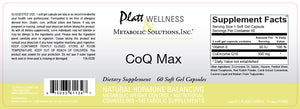 CoQ Max - 300 mg - Platt Wellness